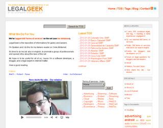 Il database dei terms of services e delle Social Media Policies