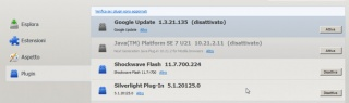 Pulire il client di posta elettronica da Google Update