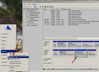Come creare una nuova partizione su windows 7