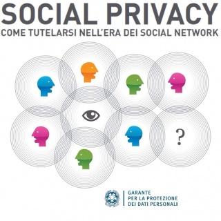Privacy: guida del Garante sui social network