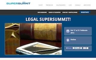 Conclusa la settimana del SuperSummit Legal dedicata all'innovazione del diritto nelle attivita' online