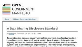 Proposto uno standard aperto per gli open data della pa