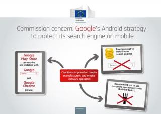 L'antitrust Europa: su Android Google cessi di abusare.
