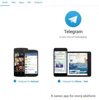 Telegram vs Twitter vs Facebook: un post inedito