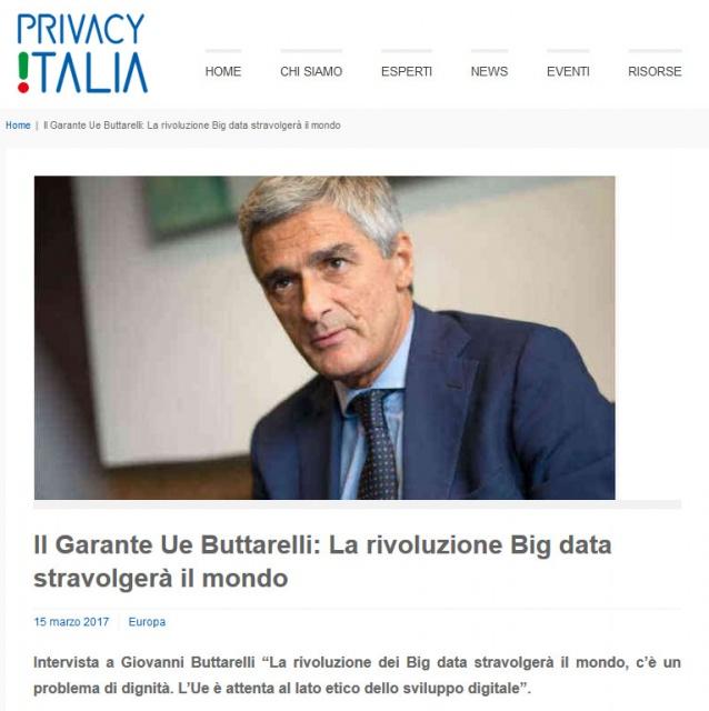Privacy 2018: Buttarelli conferma i dubbi sollevati in queste pagine