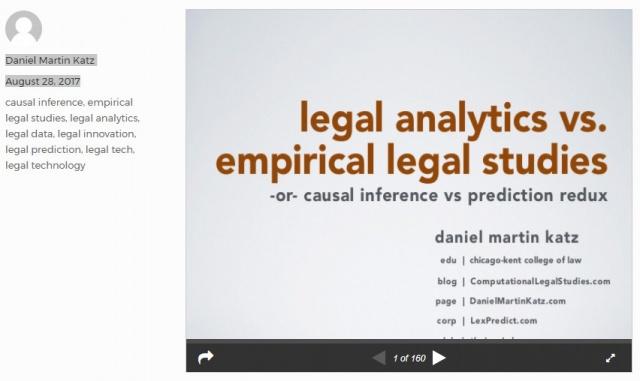 Le tecniche di IA sulla evoluzione futura della giurisprudenza