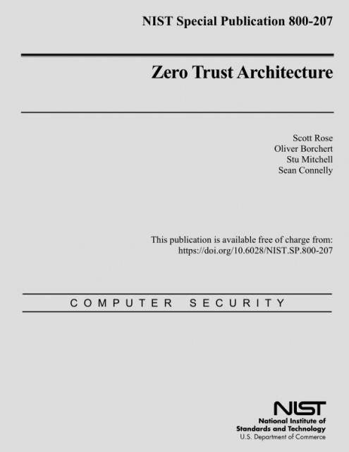 ZTA Zero Trust Architecture
