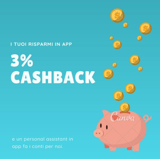 CashBack sulle carte di credito fino al 3% ?