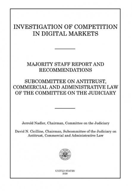 Gli USA indagano sulle posizioni dominanti nel digitale: 450 pagine