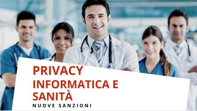 Privacy: servizi sanitari sotto pressione e multe importanti