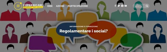 Regolarmentare i social? - Giovedi' 14 gennaio 2021 ore 21.00