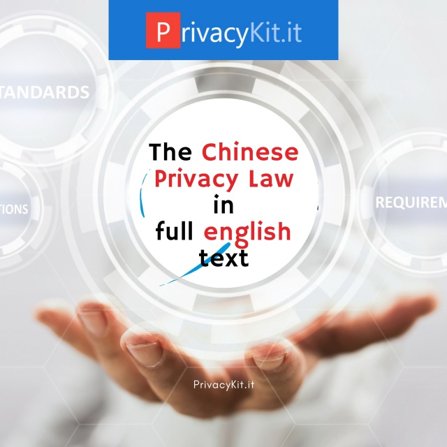 The Chinese Privacy Law - full english text - automatic translation