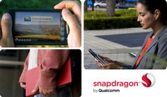 Future is tablet. By Qualcomm. It's Snapdragon