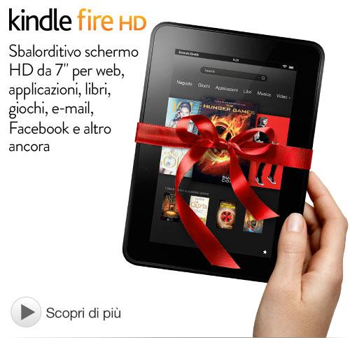 Kindle fire HD: il table di amazon