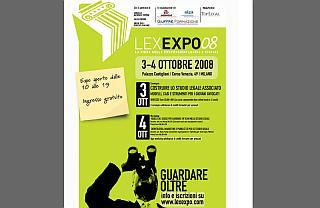 Milano: Lex Expo, la fiera dei professionisti della legge