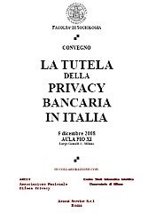 Milano: la tutela della privacy bancaria