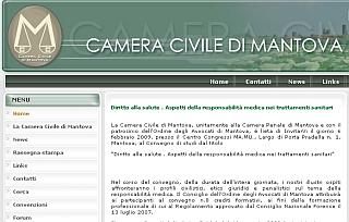 Mantova: Diritto alla salute . Aspetti della responsabilità medica nei trattamenti sanitari