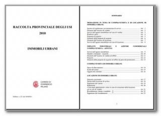 Immobili: Quali le clausole d'uso secondo la Camera di Commercio di Milano