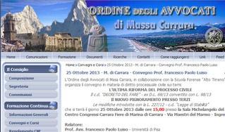 Carrara: pignoramento presso terzi e ultima riforma del processo civile