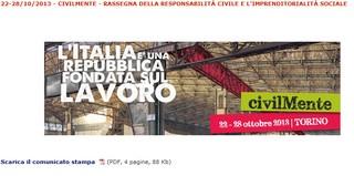 Torino: civilMente - rassegna della responsabilità civile e l'imprenditorialità sociale