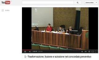 Ord. Modena: Trasformazione, fusione e scissione nel concordato preventivo