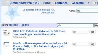 Job Act: i link
