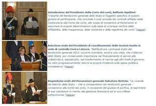 La Corte Dei Conti su Expo e la P.A.