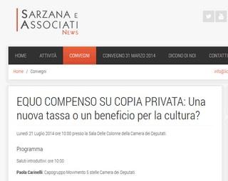 Roma: Equo compenso su copia privata: Una nuova tassa o un beneficio per la cultura ?