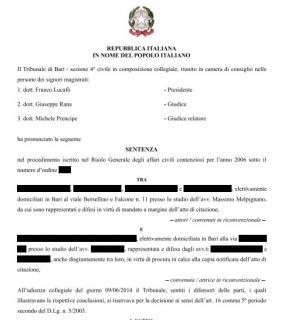Banche: condannata la banca che per la vendita di bond Argentina, Cirio e Parmalat