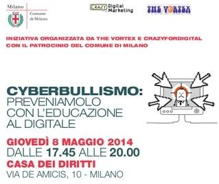 Milano: Cyberbullismo, preveniamolo con l'educazione al digitale