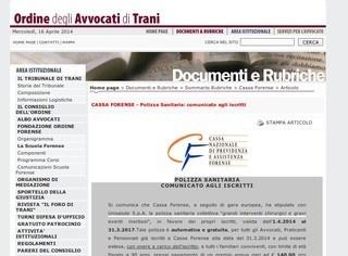 Cassa Forense: Polizza salute per avvocati e familiari