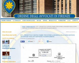 Copie di cortesia: Firenze propone un centro stampa