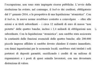 Il Fondo di tutela dei depositi e' carta straccia: i depositi non sono piu' garantiti