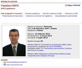 Gli aspetti antidemocratici della riforma elettorale: Chiti (PD)