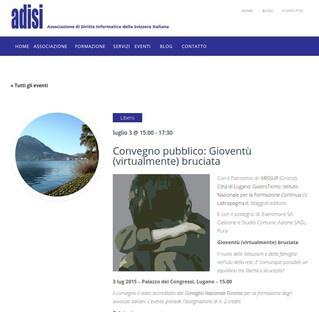 Lugano: Gioventu' (virtualmente) bruciata su cyberbullismo e social