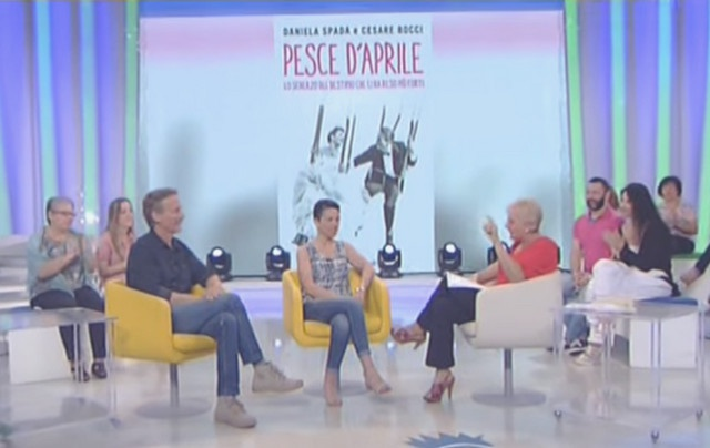 Famiglia: Cesare (Mimi' Augello) e Daniela raccontano