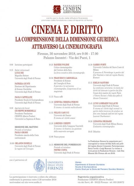 UniFi: Cinema e Diritto