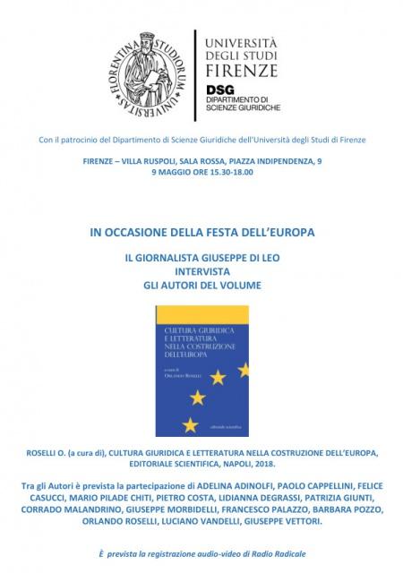 Cultura giuridica e letteratura nella Costituzione d'Europa