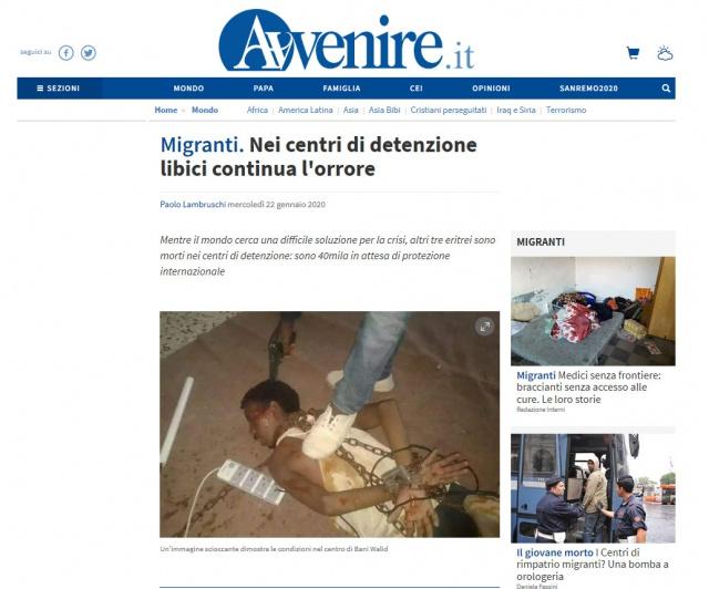 I governi europei non fermano i lager libici, l'Italia li paga e il mondo del diritto tace - UPDATE