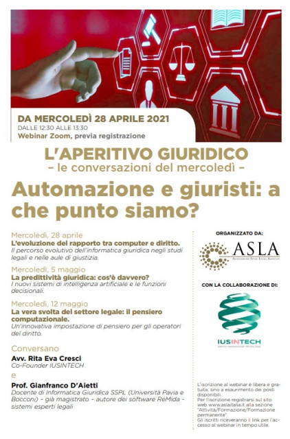 D'Aietti: Predittività e intelligenza artificiale