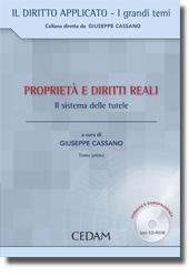 Giuseppe Cassano: i beni. Tentativo di sintesi ed aspetti qualificatori