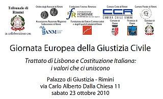Rimini: Giornata Europea della Giustizia Civile