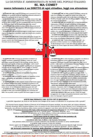 Il documento di protesta pubblicato dall'avvocatura di Cagliari e della Sardegna